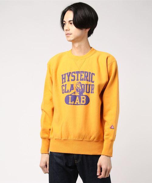 いいスタイル HYS LAB LAB スウェット(スウェット) HYSTERIC|HYSTERIC GLAMOUR(ヒステリックグラマー)のファッション通販, 武石村:648079fa --- tsuburaya.azurewebsites.net