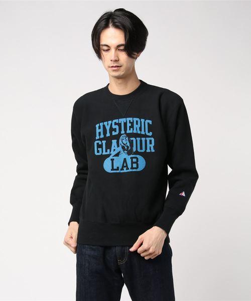 人気デザイナー HYS LAB スウェット(スウェット)|HYSTERIC HYSTERIC GLAMOUR(ヒステリックグラマー)のファッション通販, 本部町:b41460fd --- tsuburaya.azurewebsites.net