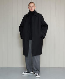 <H>WORSTED DOUBLE FACE COAT/コート