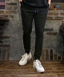 The DUFFER of ST.GEORGE(ザダファーオブセントジョージ)のW-FACE STRETCH PONTE JOG PANTS:ポンチ素材 ジャージ ストレッチジョガーパンツ(パンツ)
