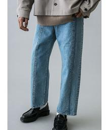 <monkey time> DENIM CENTER SEAM TROUSER/デニムトラウザーズ