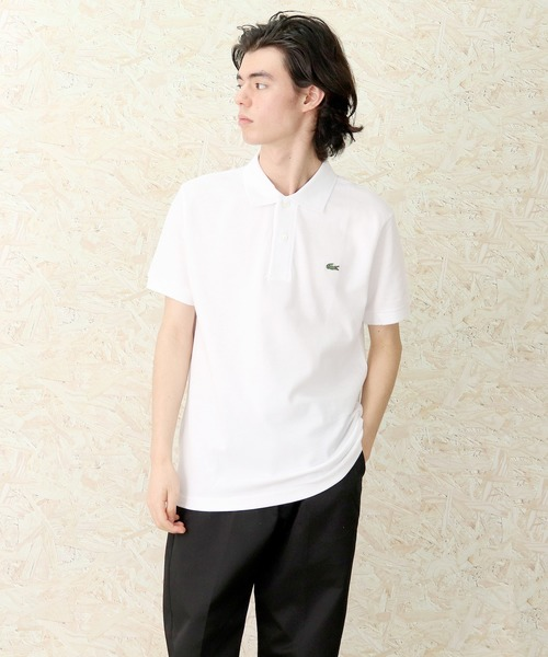 【Lacoste/ラコステ】半袖ワンポイントポロシャツ CLASSIC PIQUE POLO L1212 L.12.12