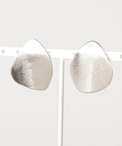 Paul Stuart advance(ポールスチュアートアドバンス)の「Hamard Earrings ハマードイヤリング(MARJORIE BAER マジョリーベア)(イヤリング(両耳用))」|シルバー
