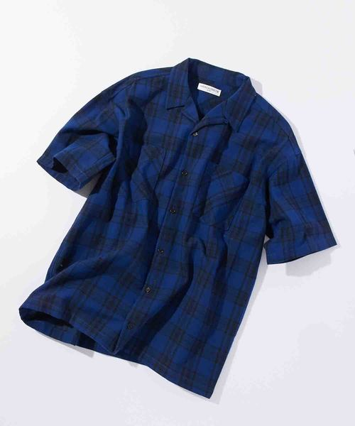 アメリカンラグシー AMERICAN RAG CIE / オープンカラーチェックシャツ Open Collar Plaid Shirt