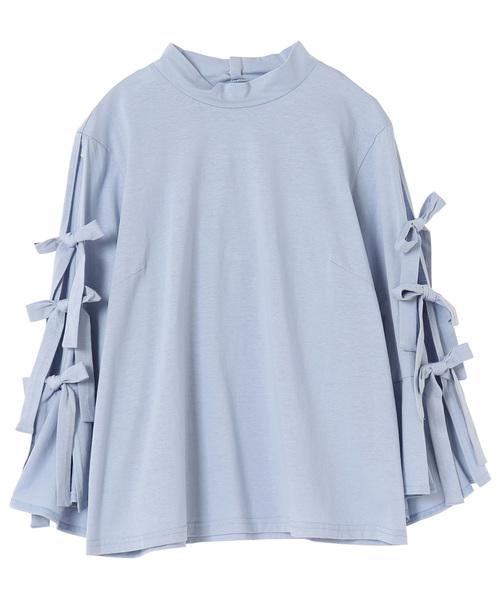 ショルダーリボン Tシャツ
