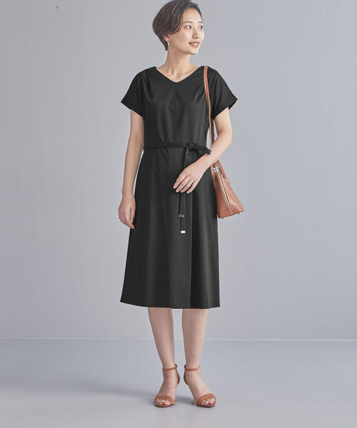 【WORK TRIP OUTFITS】TA/C モクロディー ワンピース