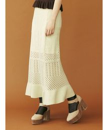 dazzlin(ダズリン)のスカシアミマーメイドスカート(スカート)