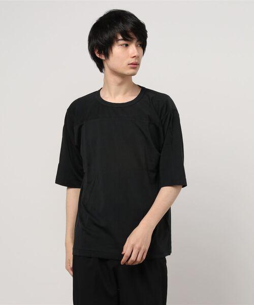 ∴【 Healthknit / ヘルスニット 】ヴィンテージレーヨンフットボール5分袖Tシャツ フットボールTシャツ 5332 SIP