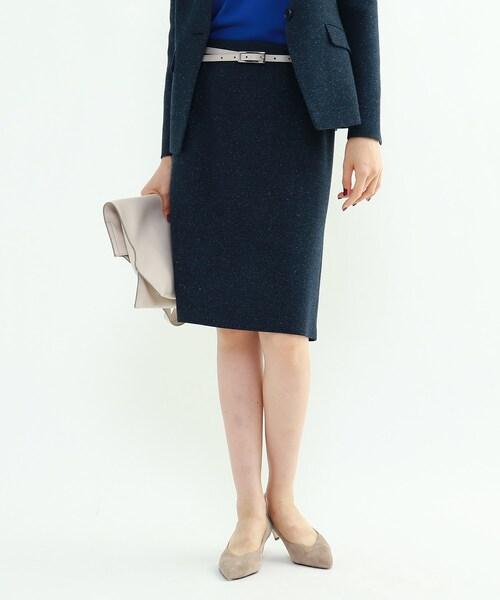 [L]マルチネップスーツタイトスカート
