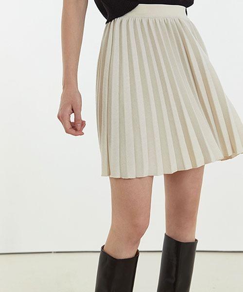 【Fano Studios】【2021SS】Pleated short skirt FC21B022