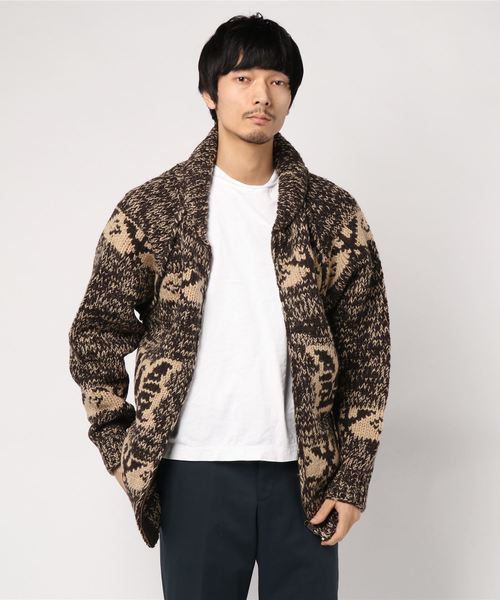 【HOUSTON】COWICHAN SWEATER(EAGLE)