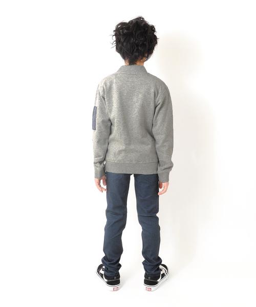 袖ポケット・ジップアップジャケット