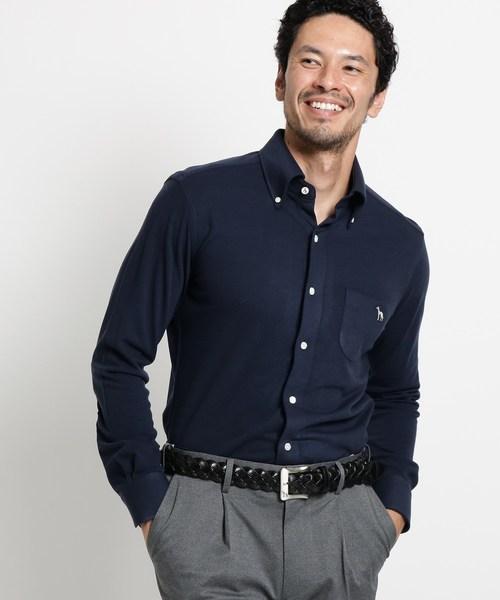 日本製 【セール ONLINE】【吸湿発熱 SHIRTS】アダバット×HITOYOSHI STORE SHIRTS 長袖ボタンダウンシャツ(シャツ/ブラウス) adabat(アダバット)のファッション通販, 白滝村:5edf963b --- pyme.pe