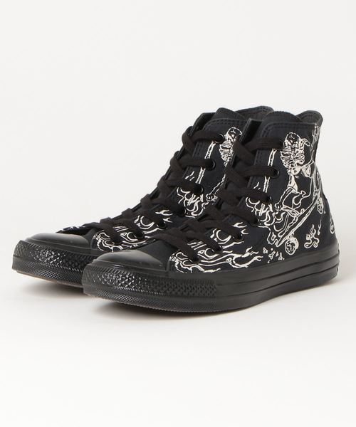 CONVERSE ALL STAR US SKULLSKATER HI (BLACK)