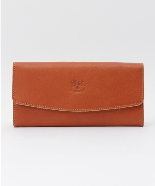 IL BISONTE(イルビゾンテ)の「IL BISONTE / ORIGINAL LEATHER / LONG WALLET(財布)」|ライトブラウン