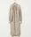 HOLIDAY(ホリデイ)の「WOOL SLIT DRESS ウールスリットドレス(ワンピース)」|ベージュ