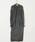 HOLIDAY(ホリデイ)の「WOOL SLIT DRESS ウールスリットドレス(ワンピース)」|詳細画像