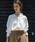 Emma Taylor(エマテイラー)の「【STYLEBAR】サンドウォッシュパールボタンシャツ(シャツ/ブラウス)」|オフホワイト