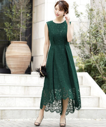 c38d7ece26ac0 レディースのドレス(グリーン・カーキ 緑色系)ファッション通販 - ZOZOTOWN