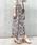 Doux archives(ドゥアルシーヴ)の「単色花デシンスカート(スカート)」|詳細画像