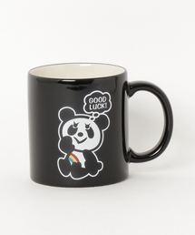 RAINBOW PANDA マグカップブラック