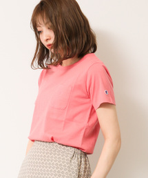Champion(チャンピオン)の【別注】ChampionポケTシャツ ○(Tシャツ/カットソー)