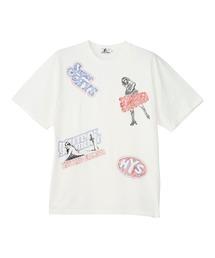 HYS BOX刺繍 Tシャツホワイト