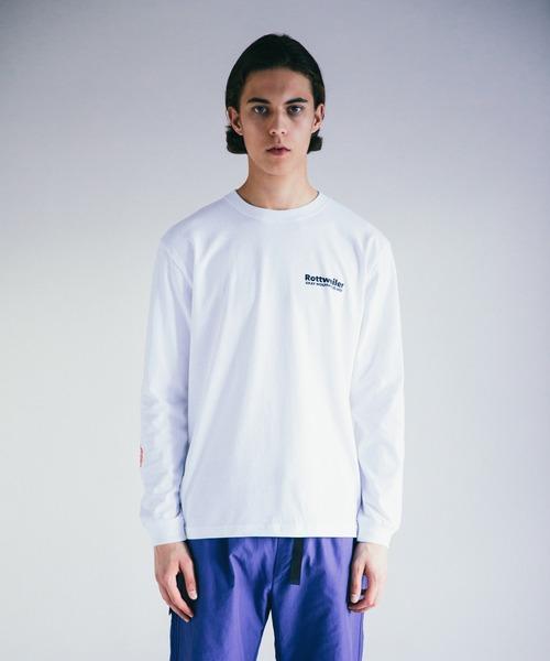ROTTWEILER(ロットワイラー)の「90 R.W LS TEE(Tシャツ/カットソー)」|ホワイト