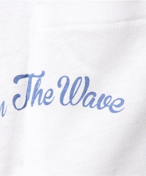 On The Wave Pocket Tee