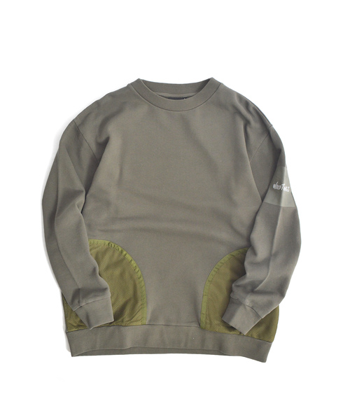 WILDTHINGS / ワイルドシングス L/S CREW WITH MESH