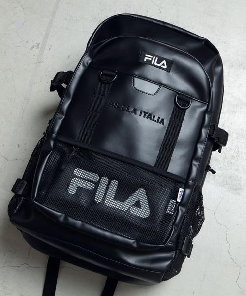 b816341c168b ∴WEGO/FILA別注ボックスロゴスクールリュック(バックパック/リュック) FILA(フィラ)のファッション通販 - ZOZOTOWN