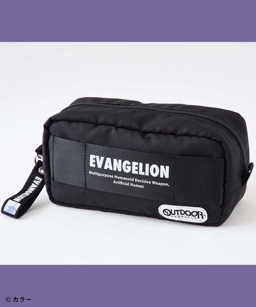 OUTDOOR PRODUCTS EVANGELIONコラボ スクエアポーチ/エヴァンゲリオン/アニメ/ロンギヌスの槍