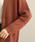 ViS(ビス)の「ロング丈柄編みカーディガン(カーディガン)」|詳細画像