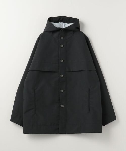 OVERCOAT × TOKYO DESIGN STUDIO New Balance Cape Shoulder Hooded Jacket■■■