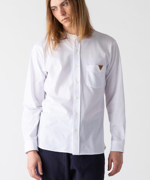 【通販 人気】 Ochre ×INDUSTYLE Band Band collar shirt(シャツ/ブラウス)/|rehacer(レアセル)のファッション通販, ヒガシスミヨシク:f6cfcc22 --- blog.buypower.ng