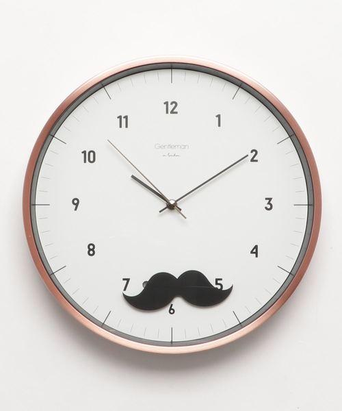 【WEB限定】WALL CLOCK Mustache マスタッシュ