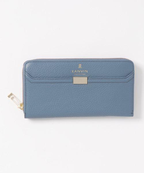 海外最新 クウ ラウンドファスナー長財布, 日本製本革婦人靴専門店『華の風』 818fd68b
