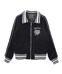 BEARHEAD刺繍 スタンドカラージャケット