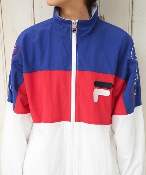 【FILA】フルジップジャケット