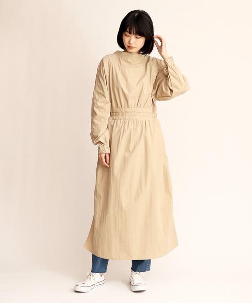 【Allumer/アリュメール】Millitary Aidman Gown 前後2WAY 8170102