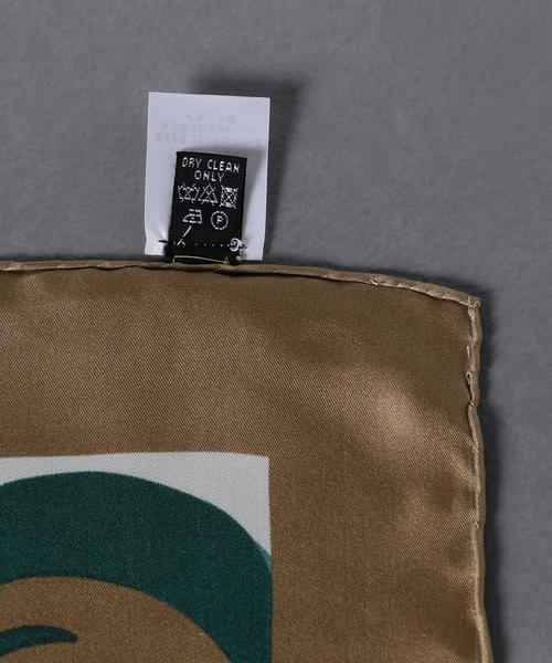 【別注】<Fiorio(フィオリオ)>シルク フラワー スカーフ