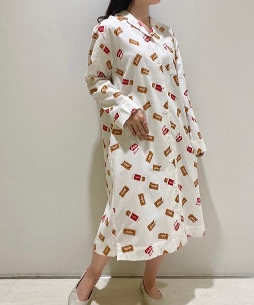 【Lotus】シャツドレス