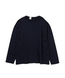 CREW NECK LONG SLEEVEブラック