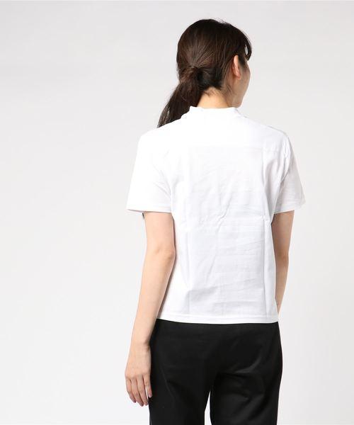 [L&HARMONY / エルアンドハーモニー]ハイクルーネックプリントTシャツ'SHURIKEN'