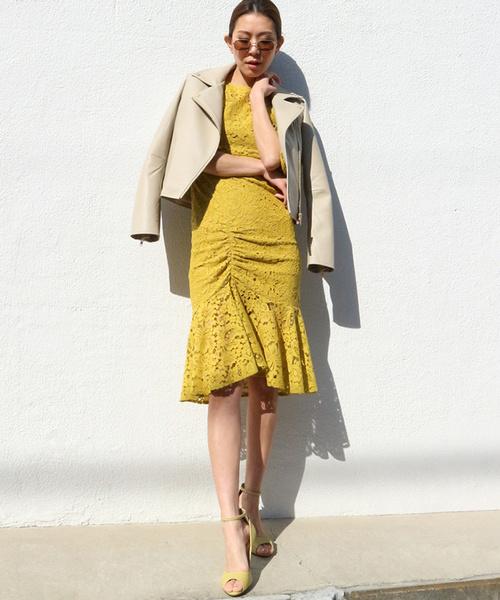 【おトク】 【セール】フレアスリーブマーメイドギャザーヘムドレス(ドレス) AMBIENT(アンビエント)のファッション通販, 大佐町:73c8da68 --- steuergraefe.de