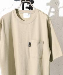 URBAN RESEARCH DOORS(アーバンリサーチドアーズ)のコーデュラナイロン ポケットTシャツ(Tシャツ/カットソー)