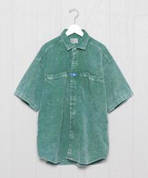 <C.E>CORD SHORT SLEEVE SHIRT/シャツ.