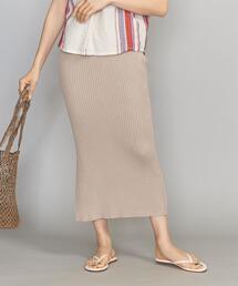 <DIARTE>リブニットスカート