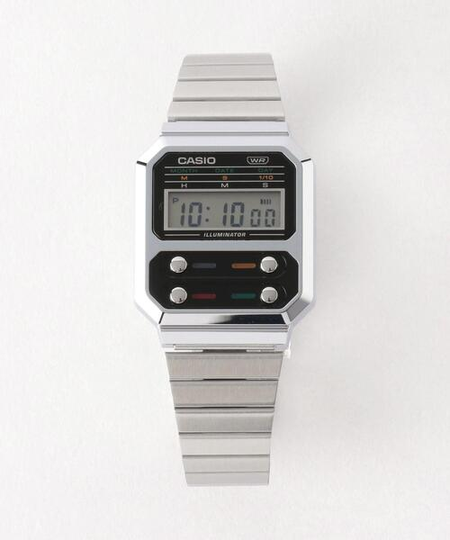 <CASIO(カシオ)> FRONTBUTTON A100 1/腕時計