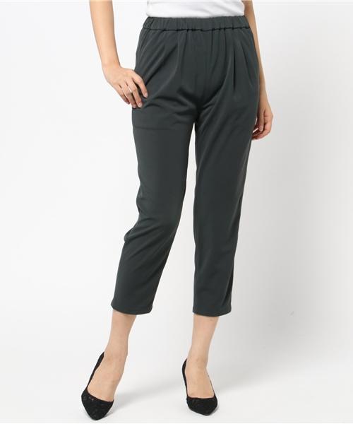 【500円引きクーポン】 acetate tapared easy pants(アセテートタックテーパードパンツ), D-FORME 0c44161f